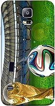 غطاء غطاء غطاء جراب متعدد الألوان لهاتف Samsung S5 Football من ColorKing - Fifa Cup 11