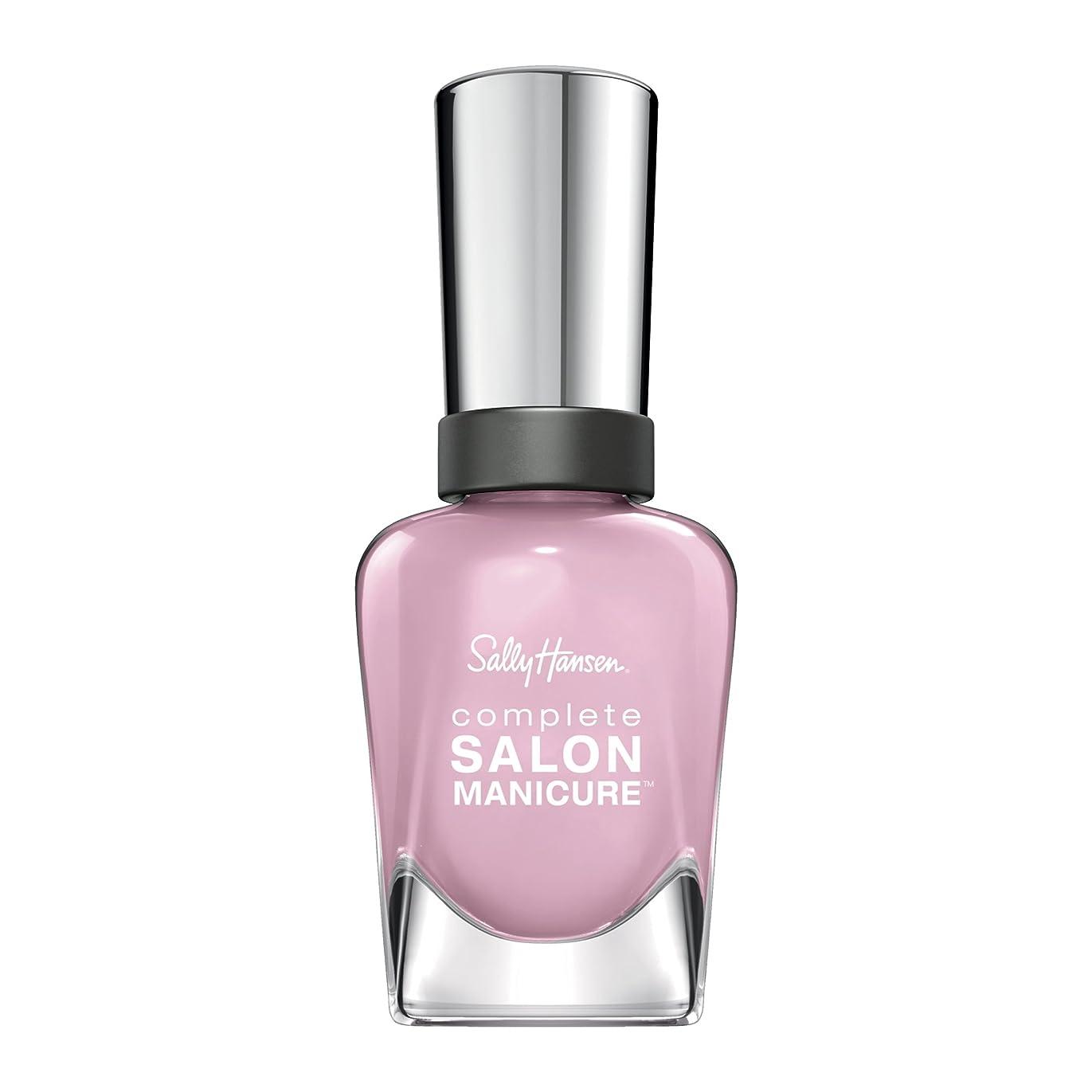 半ば効果的分類SALLY HANSEN COMPLETE SALON MANICURE NAIL COLOR #350 PINK A CARD