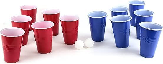 College /& anniversaire/tasses /Red Celebration Grand jetables Verres en plastique 16oz/-/Plusieurs couleurs Or D/'or Gobelets Am/éricain 100 Gold Cups/-/Party Beer Pong Original 500/ml/