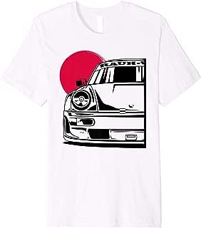 Automotive Apparel German JDM Tuning Car Part 911 964 Gaming Premium T-Shirt