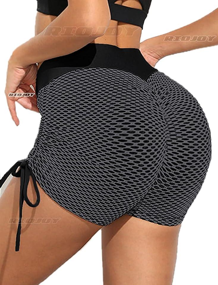 Gym Leggings Women High Waist Sports Butt Lifting Scrunch Yoga Pants