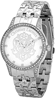 Christian Lacroix Casual Watch For Women Analog Stainless Steel - C Clw8004105Sm