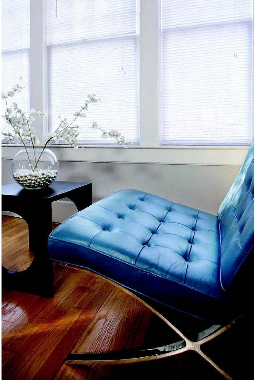 LOTUS WINDOWARE 1 PVC Max 87% Philadelphia Mall OFF Miniblind 54 48-Inch Window White by T