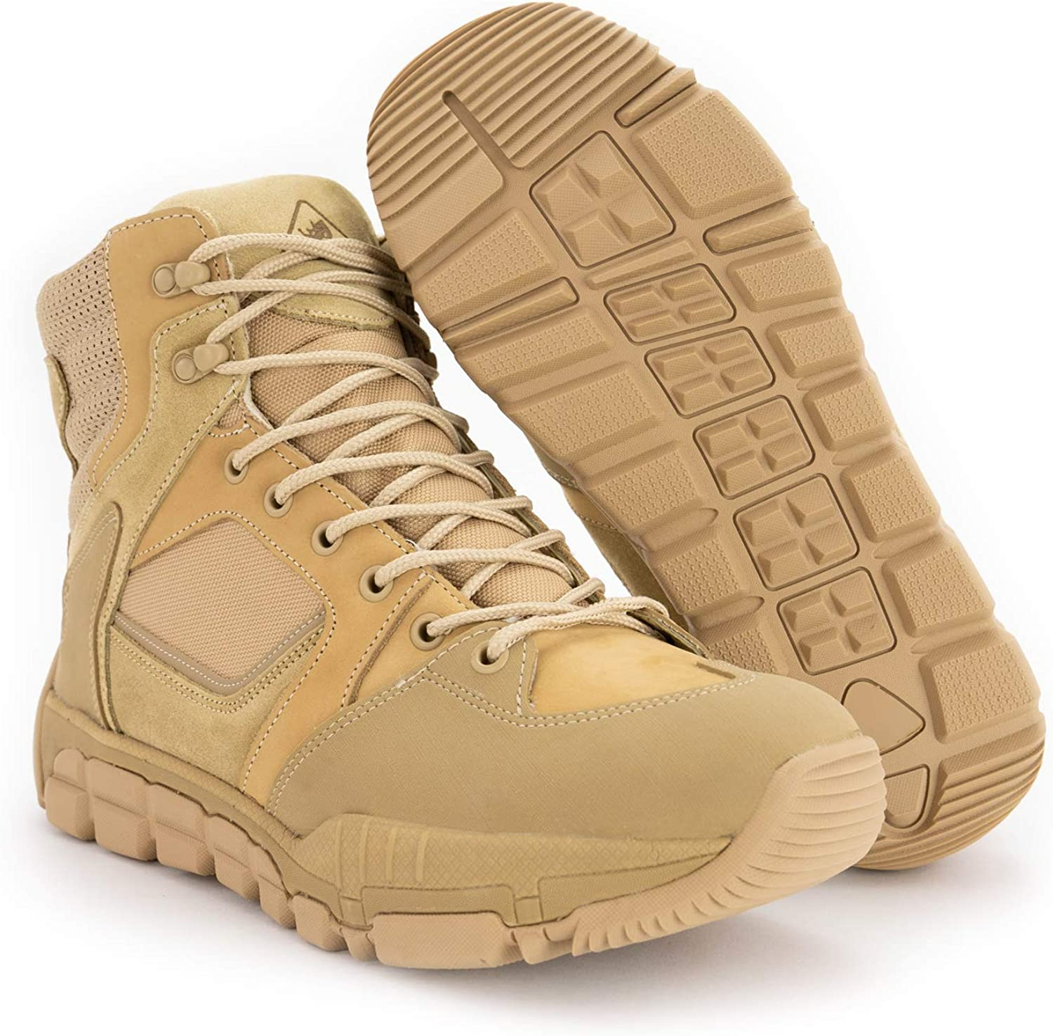 Sales of SALE items from new works RYNO GEAR Trek Year-end gift Coolmax Boots Tactical Zip Side