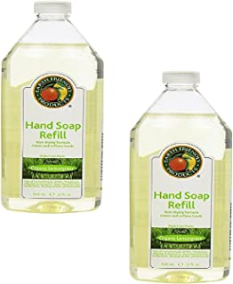 Earth Friendly Products Hand Soap Refill, Lemongrass, 32 Ounce (2-Pack)