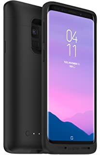 Mophie 401001476 juice pack - Qi Wireless Charging Battery Case - Made For Samsung Galaxy S9 - Black