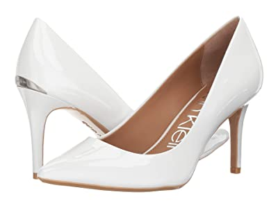 Calvin Klein Gayle Pump (Platinum White) High Heels
