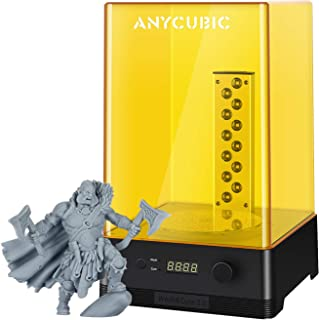 Anycubic Wash and Cure Box 2.0 - Estación de lavado y endurecimiento para pantalla LCD DLP SLA 3D (2 en 1, giratoria, UV p...