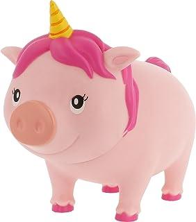 Lilalu–9000–biggys, Hucha, cabezal de unicornio, Giratorio, PVC, 16,5cm