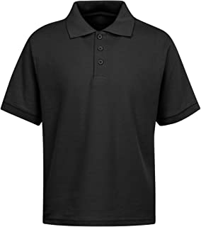 Men's Polo Shirts – Short Sleeves Stain Guard Polo Shirts for Men