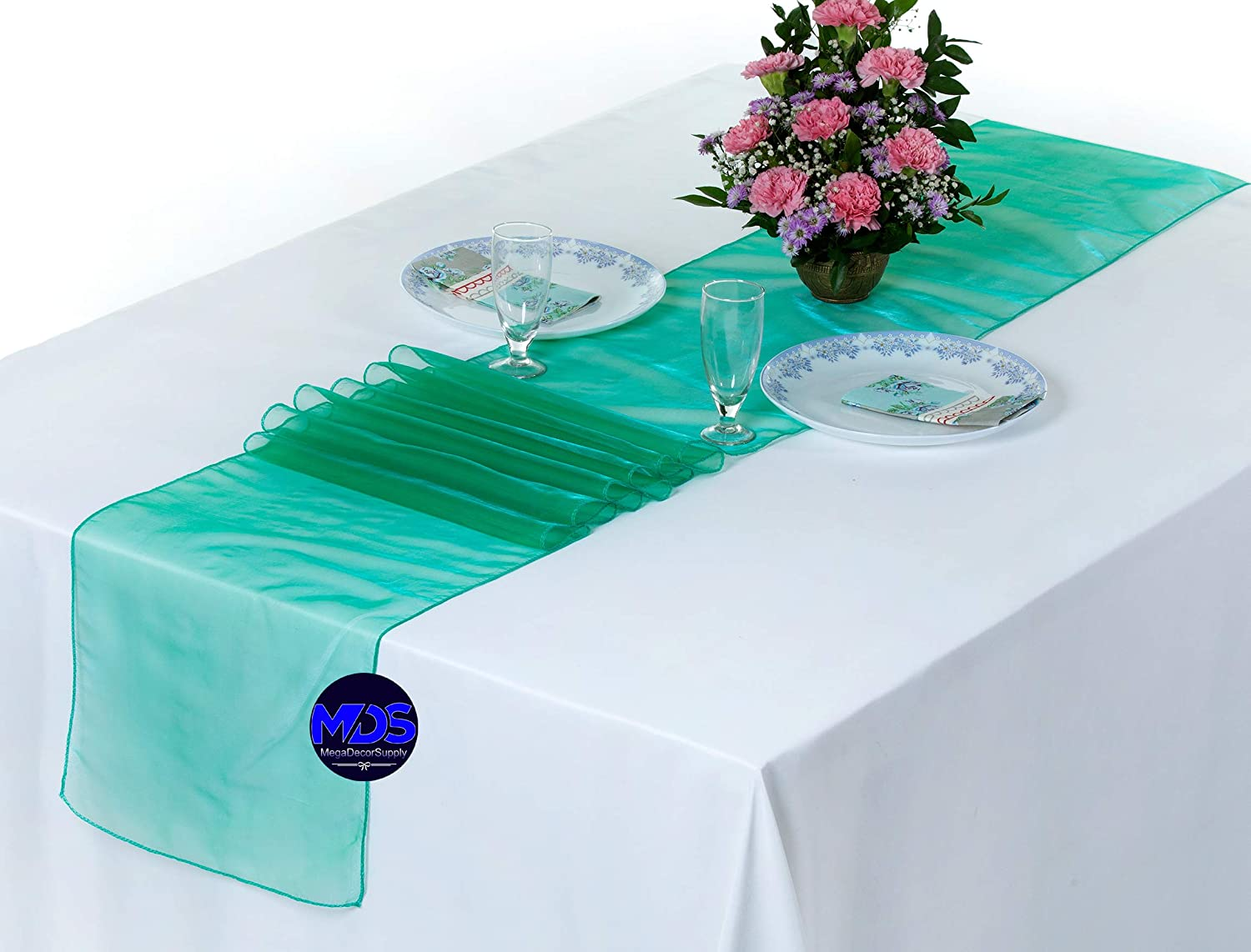 mds Pack Max 49% OFF of 20 Wedding 12 x for We 108 Runner Organza inch Max 52% OFF Table