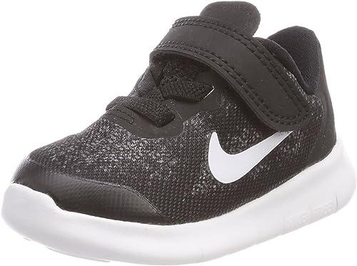 Nike Free RN 2017 (TDV), Hauszapatos de Gimnasia para Niños