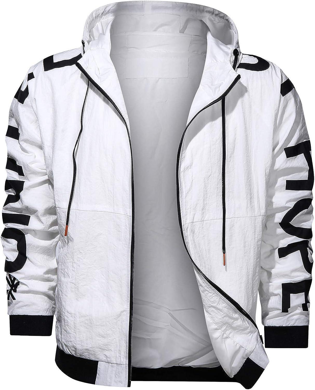 Men's Atlanta Mall Jackets 2021 new With Pocket Long Warm Fashion Hooded Sleeved jack