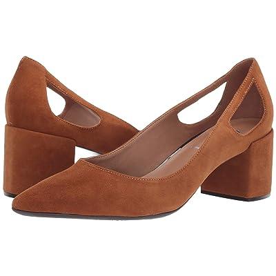 French Sole Courtney2 Heel (Cuoio Suede) Women