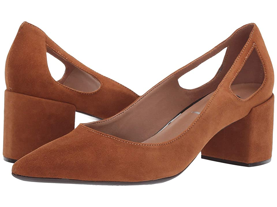 2e293003032 French Sole Courtney2 Heel (Cuoio Suede) Women s Shoes