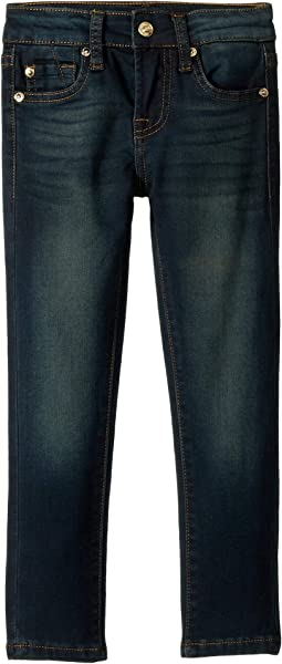 Skinny Knit Denim Jeans in Perennial (Little Kids)
