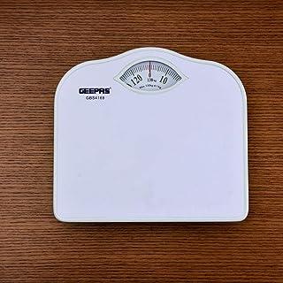 Geepas White Manual Bath Scale, GBS4169