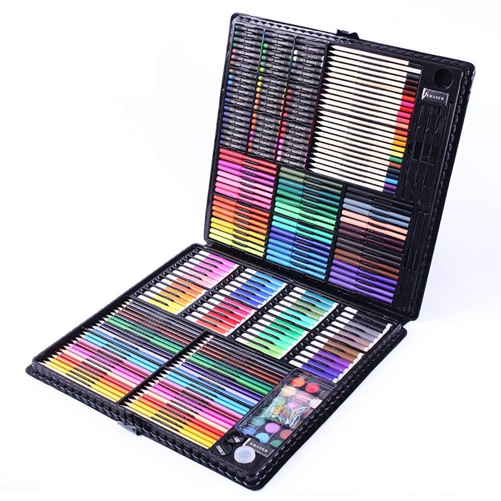 Rotuladores y Colores La inspiración Art Box en el Arte portátil y Colorear Suministros Regalos de Pascua for niños 288 Dibujo para Colorear (Color : Black, Size : Free Size): Amazon.es: Hogar