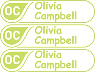 Custom Name Label, Name and Initial Label, Bottle Labels, Waterproof Kids Name Labels for Baby Bottles, Sippy Cup for Daycare School, Dishwasher Safe, Microwave Safe