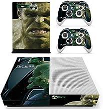 Adventure Games - XBOX ONE S - Hulk, Avenger - Vinyl Console Skin Decal Sticker + 2 Controller Skins Set
