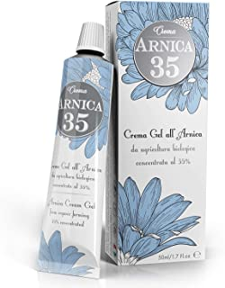 Dulàc - Arnica Gel Cream with a 35% concentration - 1.7 Fl.oz - THE MOST CONCENTRATED - 100% Made in Italy ...