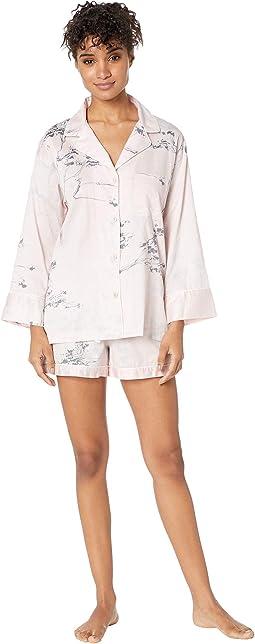 Hakone Short Sleeve w/ Shorts PJ Set