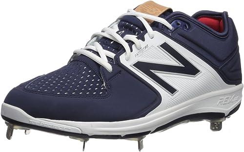 New Balance Men& 039;s L3000V3 Baseball schuhe, Navy Weiß, 16 2E US
