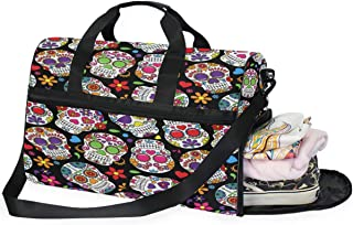MALPLENA Cute Fishes Drum gym duffel bag women Travel Bag