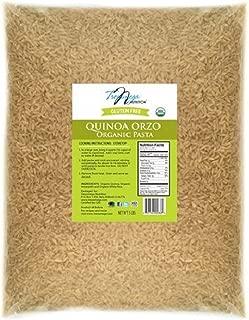 Tresomega Nutrition Organic Quinoa Pasta, Orzo, 5 Pound