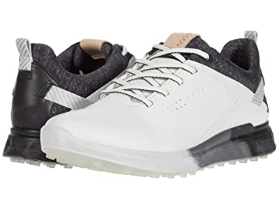ECCO Golf S-Three GORE-TEX(r) (White) Women