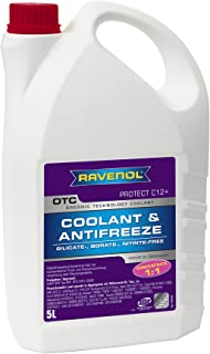 RAVENOL J4D2001 OTC C12+ Coolant Antifreeze Concentrate (G12 Plus) (5 Liter)