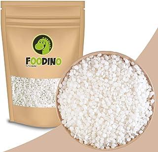 Foodino Bienenwachs Pastillen weiß ohne künstliche Aromen naturbelassen Bienenwachs Pastillen Weiss ungeschwefelt 500g – 2,5kg wiederverschließbar Premium Qualität 1kg