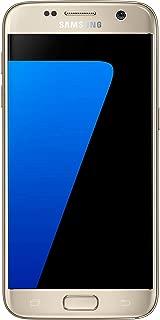 Samsung Galaxy S7 G930F 32GB Single Sim Unlocked Phone - Retail Packaging - Gold (Renewed)