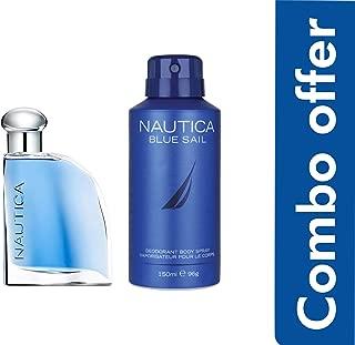 Nautica Blue Sail Combo Gift Set (EDT 50ml + Deo 150ml)
