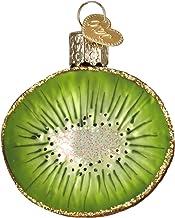 Old World Christmas Ornaments: Kiwi Glass Blown Ornaments for Christmas Tree