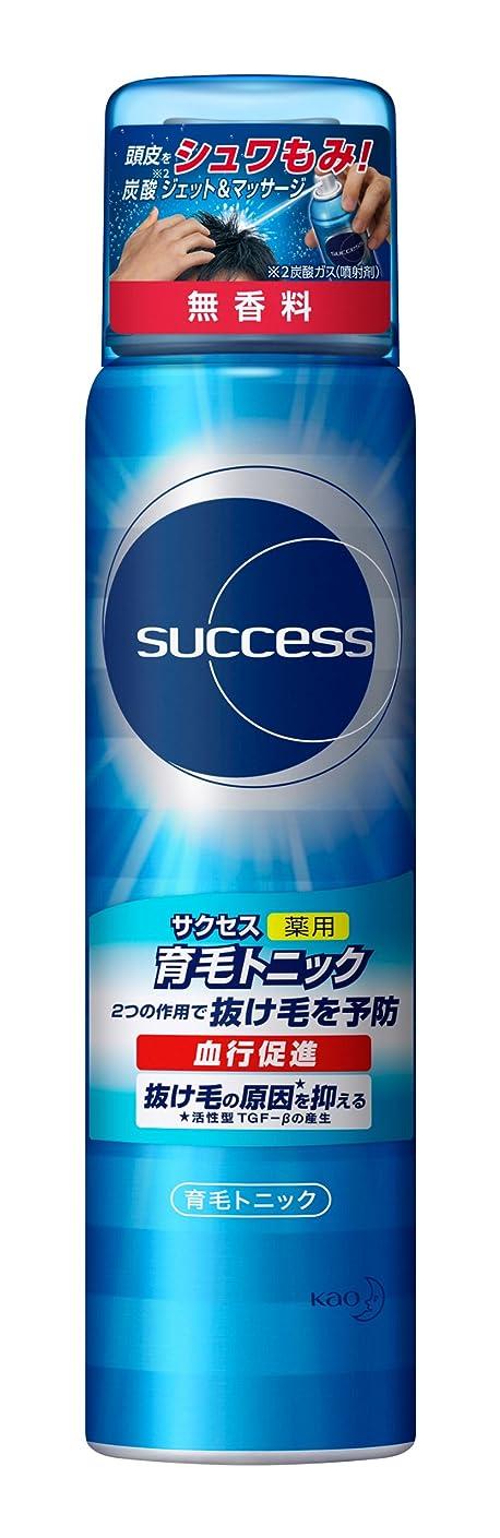 きゅうりレコーダー火曜日サクセス薬用育毛トニック 無香料 小/73g