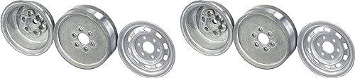 Gmade 70172 1.9 SR02 Felgen R r (2-tlg), halbGlänzend Silber