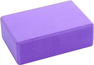 LAIER YOGA Non-Slip Yoga Block (2 Pack)EVA Foam Lightweight Exercise Block for Yoga, Pilates, Meditation