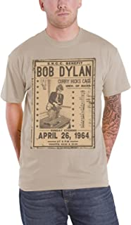T Shirt Flyer Curry Hicks Cage April 1964 Official Mens Natural