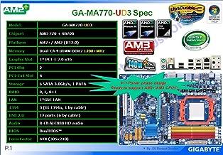 Best gigabyte ga ma770 ud3 Reviews