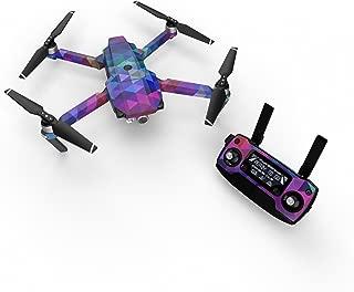 DJI Mavic 贴花套件 - 包括 1 个无人机/电池皮肤 + 控制器皮肤 Mavic Pro Charmed
