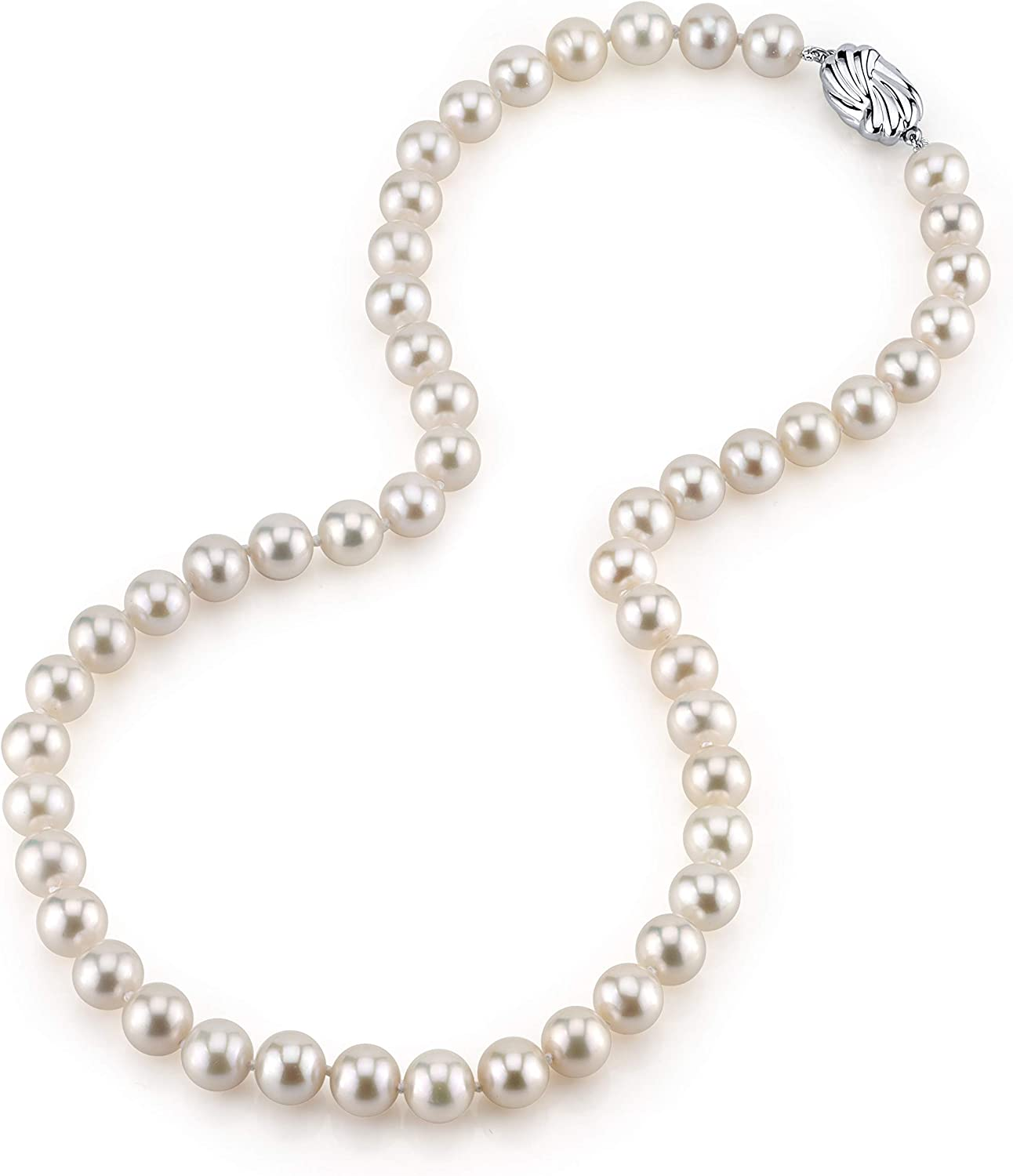 The Pearl Sale price Source AAA Quality White Pea Freshwater Fashionable Round Cultured