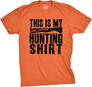 Mens This is My Hunting Shirt Funny Deer Wildlife Country Living T Shirt
