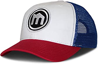 product image for Mitscoots Outfitters Red, White and Blue Trucker Logo Hat