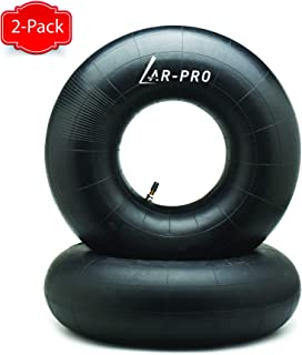 AR-PRO (2 Packs) 20x8.00-8, 20x8-8, 20x10.00-8, 20x10-8 Inner Tube Replacement with TR-13 Straight Valve Stem for Mower/Tractor/Golf Cart/Garden Trailer and More