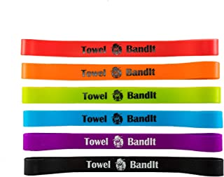 Towel BandIt Beach Towel Holder Ocean's Six 6 Pack-Keeps Your Towel on Your Chair