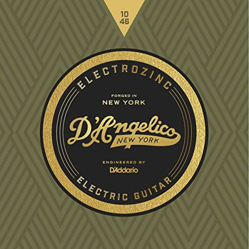DAngelico Electrozinc Rock 10-46 Light Electric Guitar Strings