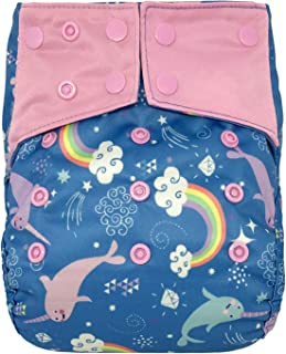 Reusable Waterproof Diaper Cover Shell: for Baby Prefold Cloth Diapers, Flats or Inserts