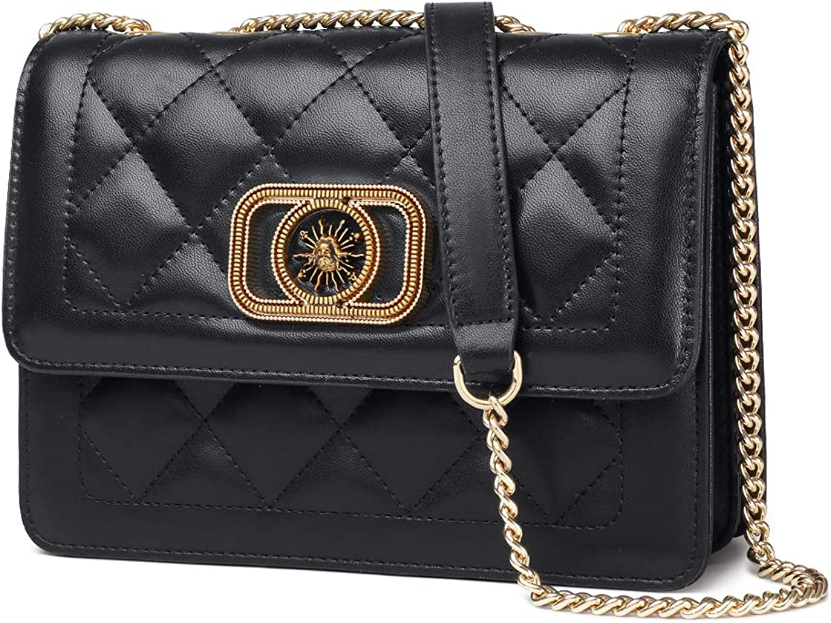 LAORENTOU Handbags for Women Satchel Shoulder Bags, Women's Chain Quilted Purses, Ladies Crossbody Bag for Women Girl