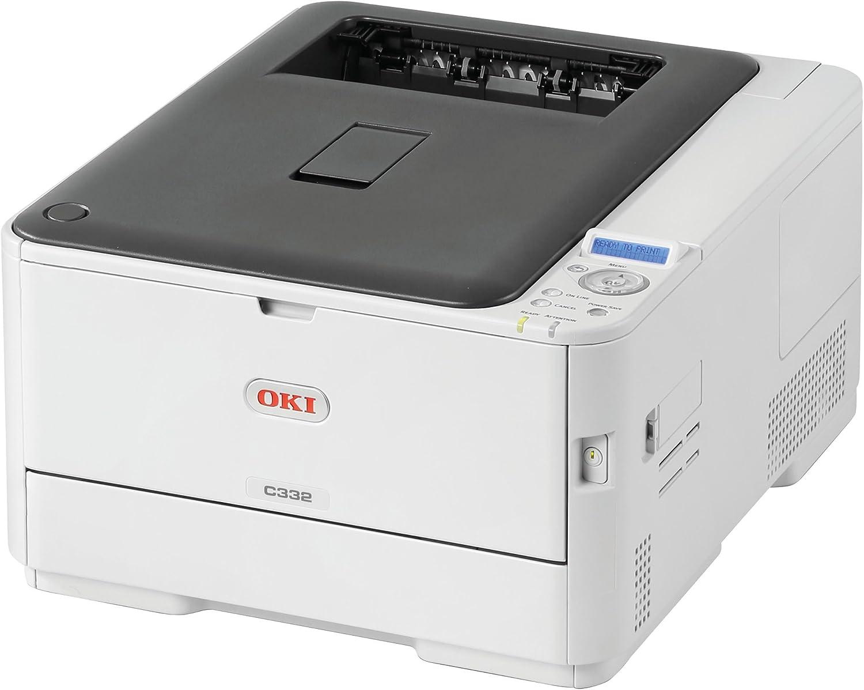 OKI 62447501 C 332dn Workgroup Printer Gray/White
